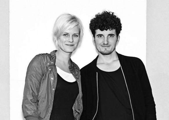 Jens Praet and Vibeke Skar