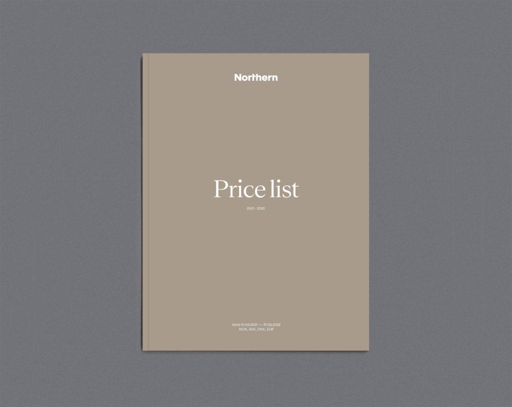 Price list 2021/2022 - NOK, DKK, SEK, EUR