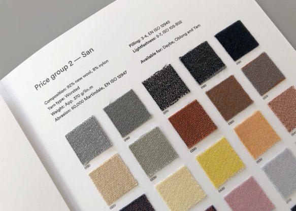 Northern textile colour