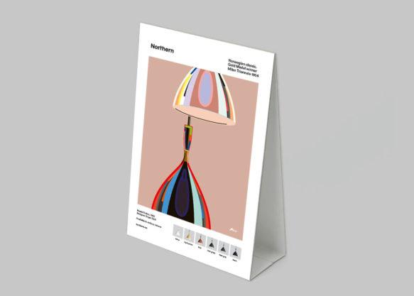Display to print - Dokka poster Norwegian classic