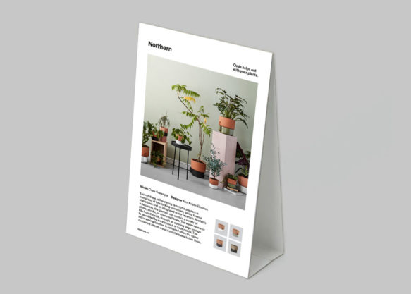 Display to print - Oasis product info