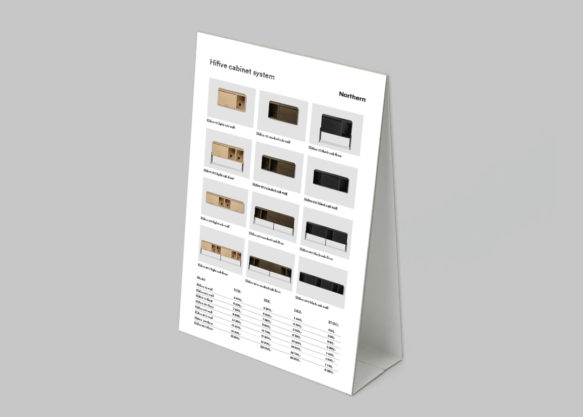 Display to print - Hifive cabinet system price list 20-21