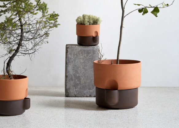Oasis Self-watering planters in a new medium size__Northern
