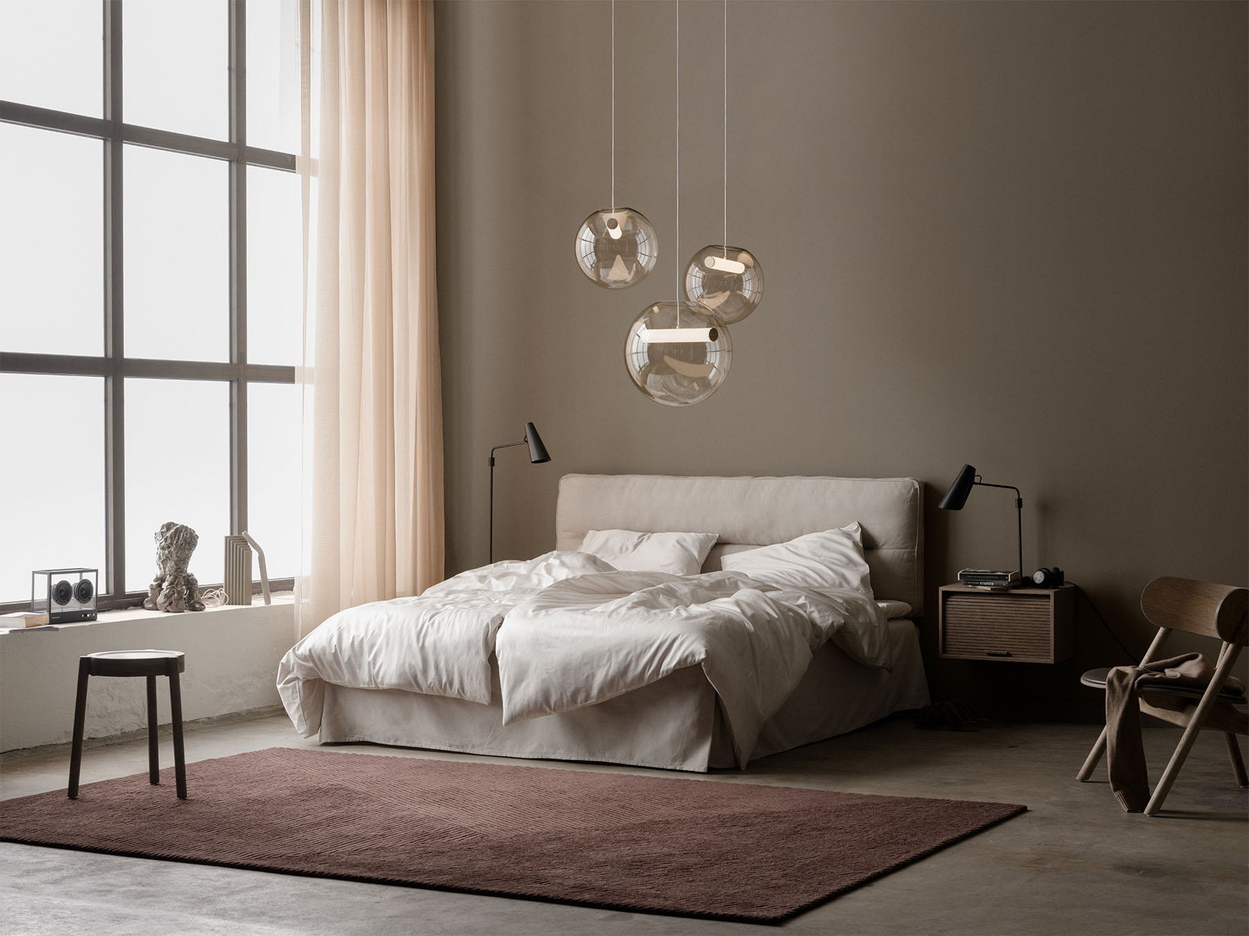 Reveal_pendant_group_Birdy_Row_bedroom_Northern_Photo_Einar_Aslaksen_Low-res