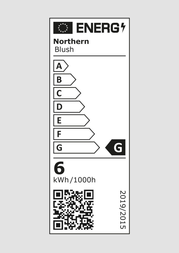 EU energy label - Blush pendant / wall lamps