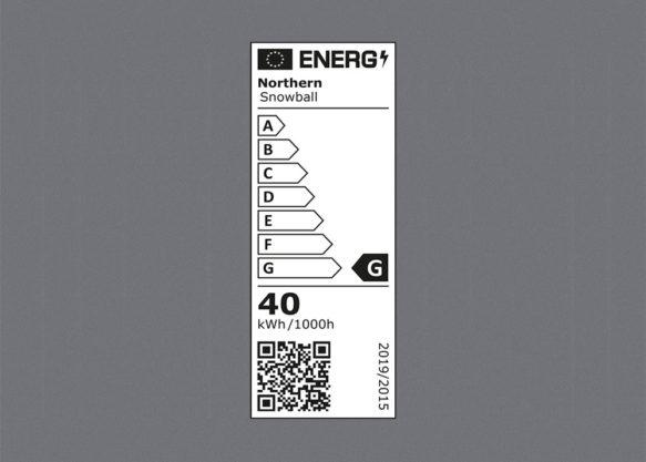 Northern EU energy label-wide