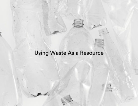 Recycle polyester_using waste as a res
